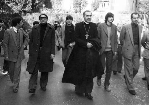 AFRAGOLA 10 DICEMBRE 1982 LA PRIMA MARCIA ANTICAMORRA DON RIBOLDI,PEPPE NAPOLITANO,SERGIO GARAVINI 1