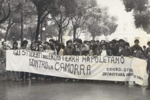 MOVIMENTO CONTRO LA CAMORRA AFRAGOLA 10 DICEMBRE 1982 (1)