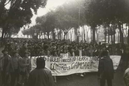 MOVIMENTO CONTRO LA CAMORRA AFRAGOLA 10 DICEMBRE 1982 (8)