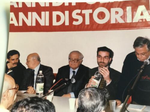 GERARDO CHIAROMONTE A S. GIOVANNI A TEDUCCIO CON D'ANGELO, BALSAMO, NAPOLITANO, DANIELE