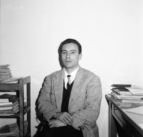 Andrea Geremicca. Primi anni 60 al tempo in cui era responsabile della Redazione de L'Unità di Napoli